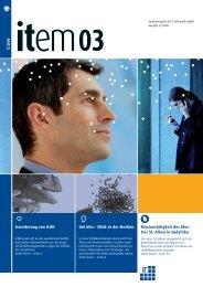12.2006 Erweiterung von iCON ... - IT-Informatik GmbH