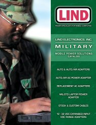 MILITARY - Lind Electronics