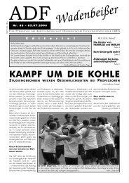 Wadenbeißer Nr. 65 vom 03.07.2006 [PDF] - ADF ...