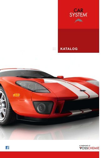 KATALOG - CARSYSTEM Süd - Rohde GmbH