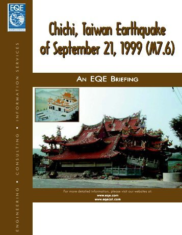 Chichi, Taiwan Earthquake Of September 21, 1999 - ABS Consulting