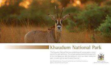Khaudum National Park - Ministry of Environment and Tourism