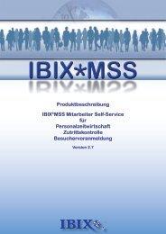 Produktbeschreibung IBIX*MSS Mitarbeiter Self-Service für ...