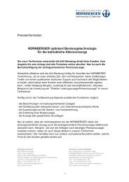 Presseinformation NÜRNBERGER optimiert Beratungstechnologie ...