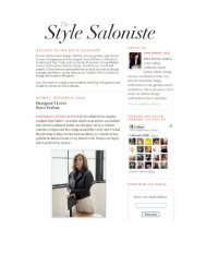 The Style Saloniste - Rose Tarlow Melrose House