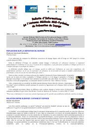 Bulletin d'Informations - Poisson Bouge