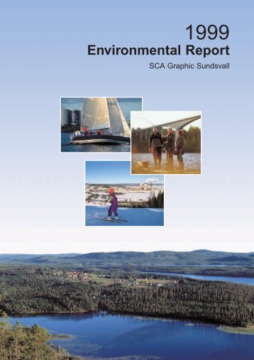 Environmental Report - SCA Forest Products AB