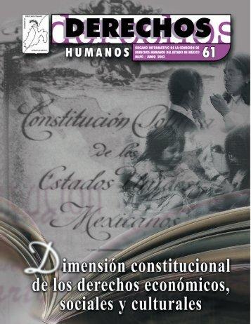 Dimensión constitucional de los derechos económicos ... - codhem