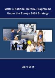 Malta's National Reform Programme - European Commission
