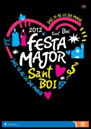 Festa Major 2012 (programa).pdf - Ajuntament de Sant Boi de ...