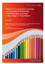 Power Teaching Maths Evaluation - final report April 2013