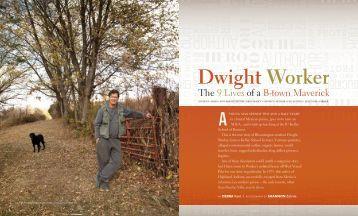 Dwight Worker - Bloom Magazine
