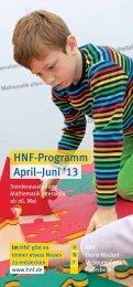 April–Juni '13 HNF-Programm - Heinz Nixdorf MuseumsForum