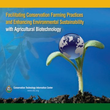 Facilitating Conservation Farming Practices and Enhancing ...