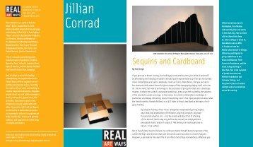Jillian Conrad - Real Art Ways
