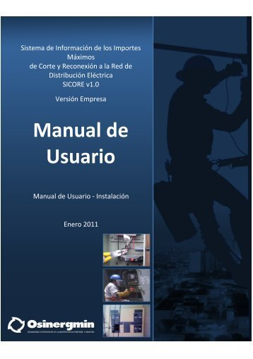 Manual de Usuario - osinergmin
