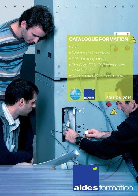 Catalogue Aldes Formation