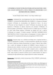 A INTERPRETAÇÃO DE CONTRATOS INTERNACIONAIS ... - CEDIN