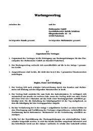Wartungsvertrag - Robust-pc.de