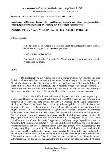 PDF-Download - hrr-strafrecht.de