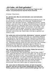 Artikel vom 03. Mai 2009 als Download - Rainer Schmidt