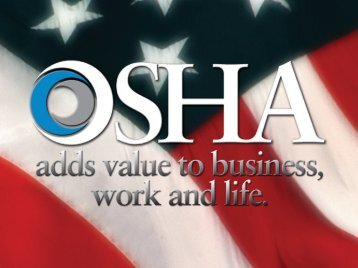 OSHA's Commercial Diving Operations Directive - Association of ...