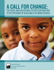 A Call for Change: The Social and Educational Factors Contributing ...