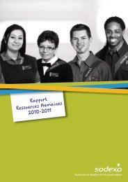 Rapport Ressources Humaines 2011
