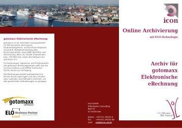 Online Archivierung - icon GmbH