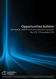 CT Opportunities Bulletin 275 171114