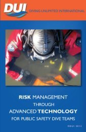 Risk Management for Protection for Public Safety ... - DUI Online