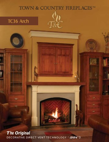 TOWN & COUNTRY FIREPLACES - Inglenook Energy Center
