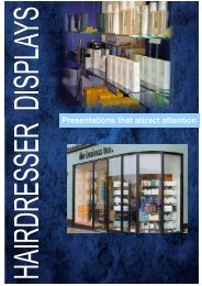 Displays for Hairdressers - Redcliffe