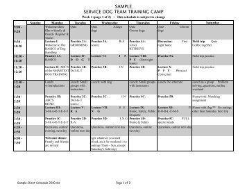 sample principal walk through training schedule
