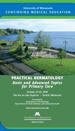 practical dermatology - University of Minnesota Continuing Medical ...