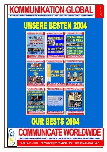 kommunikation global . communicate worldwide – magazin für ...