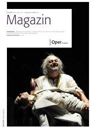 Opernmagazin März / April 2012 - Oper Frankfurt