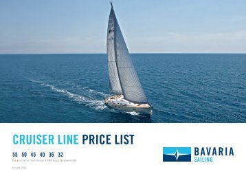 CRUISER LINE PRICE LIST - Kiriacoulis