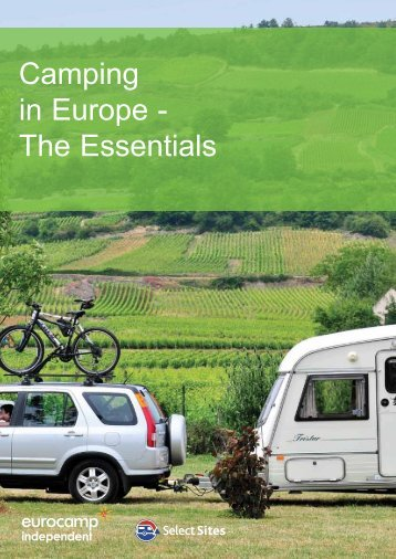 Camping in Europe - The Essentials - Eurocamp Independent