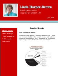 2013 Newsletter 04 2013.pdf - Texas House of Representatives