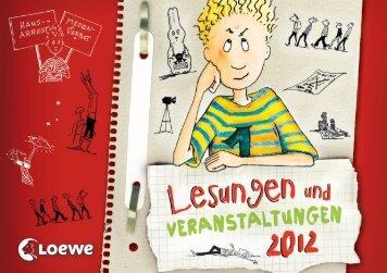 Lesungen und Veranstaltungen - Loewe Verlag