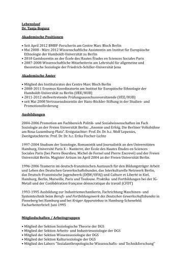 manufacturing various positions cv beispiel. postdoctoral fellow cv ...