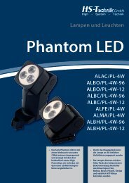 Phantom LED - HS-Technik