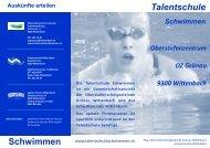 Unser Flyer - das Wichtigste in Kürze - Schulen Wittenbach