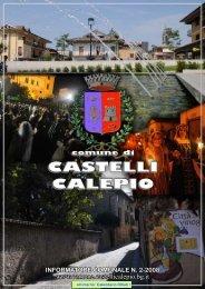 Giornalino Comunale - Comune di Castelli Calepio