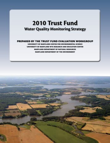 Monitoring Strategy - Maryland Department of Natural Resources