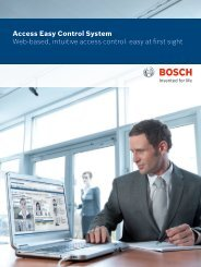 Access Easy Control System Web-based, intuitive access control ...