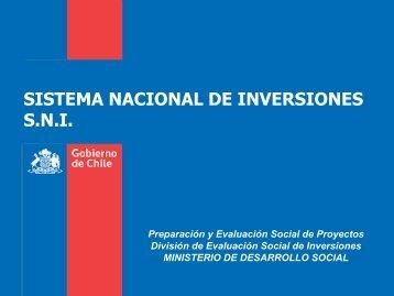 Subsistema Análisis Técnico Económico - Sistema Nacional de ...