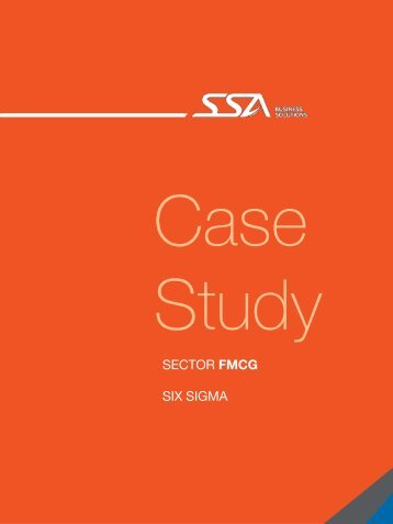 FMCG (Consumer Products) - SSA Solutions