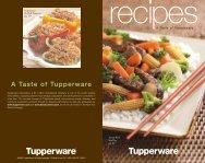 A Taste of Tupperware